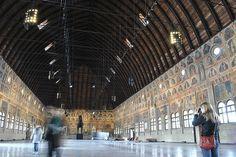 Inside Palazzo della Ragione, Padua