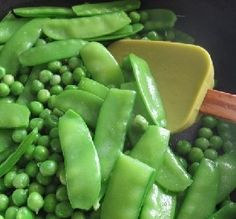 Recipe of the Day: Buttered Snow & Green Peas