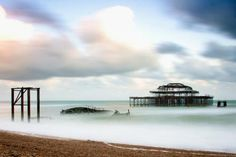 #Abandoned West Pier in #Brighton