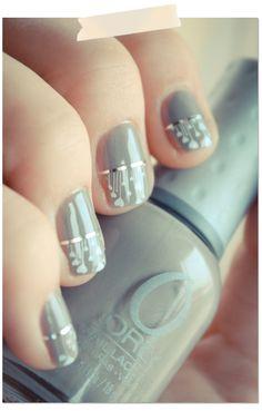 Tuto nail art facile // Une manucure de St valentin qui n'est pas rose à paillettes | PSHIIIT