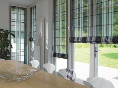 Find out all of the information about the Luxaflex product: Roman blinds / canvas BALLINA . Roman Blinds, Cool Walls, Roman Shades, Indoor, Curtains, Living Room, Pergola, Furniture, Design