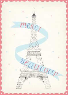 Amy Borrell's illustrations are so cute! Especially her Paris series!