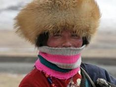 Enlarged picture of Qinghai (Chine): Tibetan nomad woman in the plains of Qinghai province Tibet, China, Hats, Pictures, Cold, Women, Sri Lanka, Places, Wander