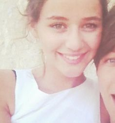 Eleanor :)  - eleanor-calder Photo with like a fourth of Louis' face in there :P
