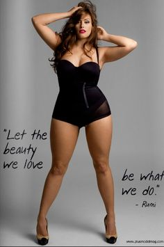 she isn't a size 0, yet she is beautiful. society's perceptions of beauty are so messed up