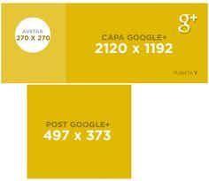 google plus, tamanho de postagem