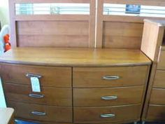 Contemporary Bedroom Set - $695 (The Furniture Barn,Ft.Pierce)