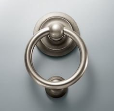 Beau Ring Door Knocker Restoration Hardware