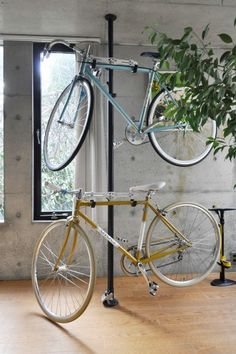 自転車は夫の趣味。「私は足として使用しています」