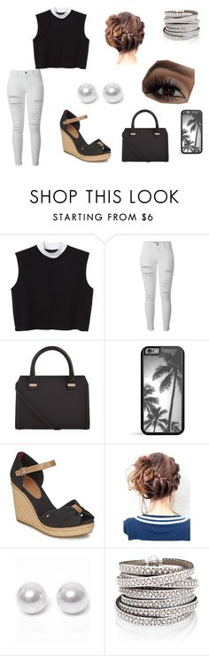 """02"" by cam-herbin ❤ liked on Polyvore featuring beauty, Monki, Frame, Victoria Beckham, Tommy Hilfiger and Nouv-Elle"