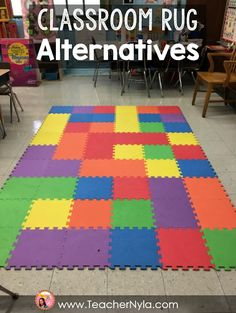 Use Foam Tiles As A Classroom Rug Or For Flexible Seating