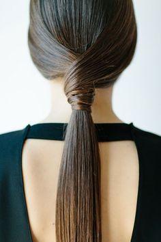 Aprenda o penteado: Rabo de cavalo