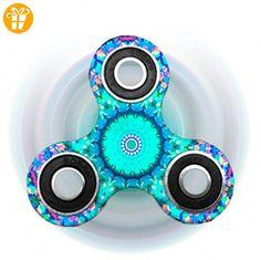 kotiger Farbige Hand zappeln Spinner Spielzeug für Kinder Erwachsene Stress reduzieren lenken die Aufmerksamkeit - Fidget spinner (*Partner-Link)