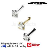 1 Piece Heart Nose Piercing Studs with Spiral Tails. stainless steel for surgical applications, safety testing for your health; Diamond Nose Stud, Nose Ring Stud, Diamond Earing, Cartilage Piercing Stud, Ear Piercings, Body Jewellery, Women's Jewelry, Heart Nose Rings, Stainless Steel Types