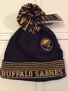 dd7be7a6817 NHL Buffalo Sabres Adult Reebok Winter Knit Hat www.mancavesonline.com Winter  Knit Hats