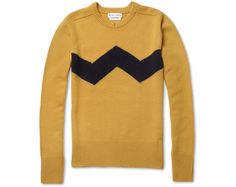 Charlie Brown sweater. I would totally wear this. Of course, the price is insane so I'll never actually buy one.