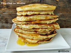 Pancakes cu banane - Carte de Rețete Sweets Recipes, Pancakes, Food And Drink, Breakfast, Banana, Morning Coffee, Pancake, Crepes