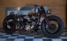 HD Knucklehead | Bobber Inspiration - Bobbers and Custom Motorcycles | shitfuckingfuckshit August 2014