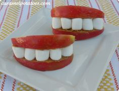 Apple Smiles - 20 Sweet and Easy Treats for Halloween Party