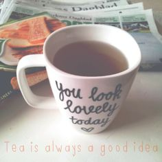 You look lovely today Mug - This can easily be made!!