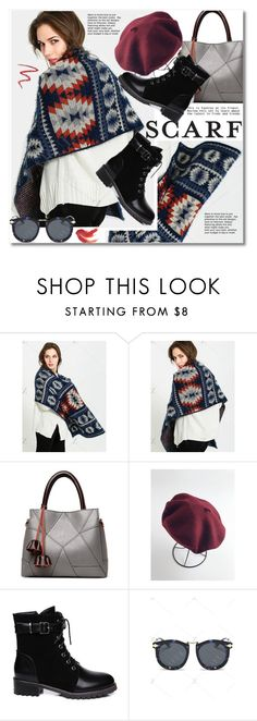 """""""Scarf!"""" by svijetlana ❤ liked on Polyvore featuring By Terry, scarf and polyvoreeditorial"""