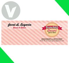 DESIGN: Frenchkiz Dessert Facebook Cover.