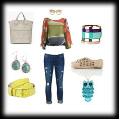 """jeans outfit 3"" by kkollektion on Polyvore"