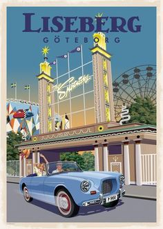 Sverige – Page 2 – Thomasodesign Gothenburg, Europe, Travel Scrapbook, Vintage Travel Posters, Travel Around The World, Wall Collage, Aesthetic Pictures, Vintage Prints, Poster Prints