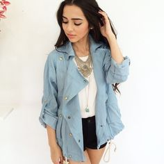 Image via We Heart It #boutique #cute #facebook #jacket #love #model #outfit #silver #style #tumblr #ootd #instagram