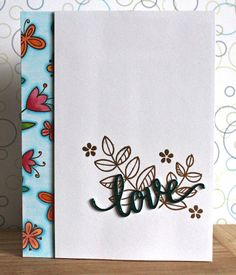 There's a Card for That: Floral Thoughts Series | ft. Foiling and Lawn Fawn...
