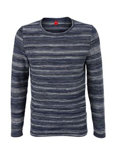 Marled cotton jumper from s.Oliver. Discover the latest fashions online for women, men and kids and order with free delivery.
