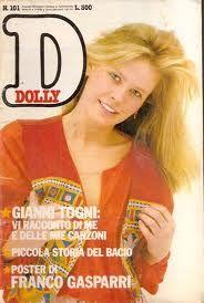 Dolly, una delle riviste che acquistavo tornando da scuola