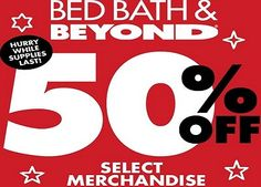 Get Free Bed bath And Beyond Coupon For Shopping