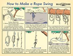 How to Make a Rope Swing and Fly Like Tarzan: An Illustrated Guide