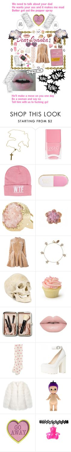 """No Daddy's Girl"" by anna-pensky ❤ liked on Polyvore featuring VSA, Gypsy, Nails Inc., Sally&Circle, ban.do, J.W. Anderson, Cath Kidston, Bobbi Brown Cosmetics, Stine Goya and Fujifilm"