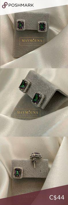 Check out this listing I just found on Poshmark: STERLING SILVER RAINBOW TOPAZ RECTANGULAR EARRINGS. #shopmycloset #poshmark #shopping #style #pinitforlater #Jewelry Arrow Earrings, Circle Earrings, Star Earrings, Beaded Tassel Earrings, Swarovski Crystal Earrings, Earrings Handmade, Royal Rings, Rainbow Topaz, Radiant Cut