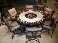 love this table. very neat. but we want one with the heat lamp, that runs off propane.