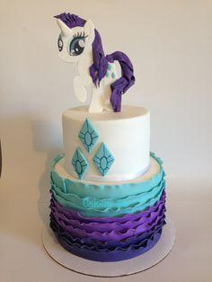 My Little Pony, Rarity cake by Cakery 44