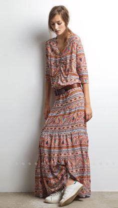 Robe longue bohème Ba&sh
