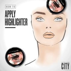 6. How To | Apply Highlighter - One, two, three, and you're ready to glow.