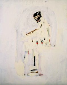 Jean-Michel Basquiat, Untitled (Subject)  on ArtStack #jean-michel-basquiat #art