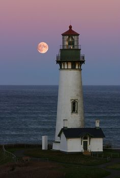 Yaquina Head Lighthouse in Newport, OR.  Love this one, and our family's history with it!