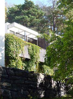 Aino and Alvar Aalto. House in Riihitie. Helsinki, 1934-1936