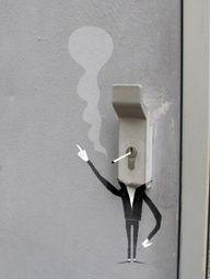 Paris #street #art #graffiti