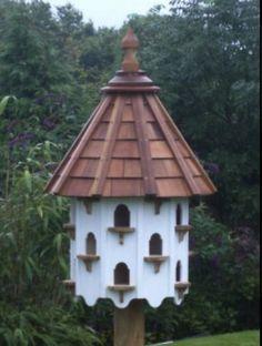 I will build a dovecote one day! Bird House Feeder, Bird Feeders, Large Bird Houses, Dove House, Pigeon House, Bird Tables, Bird Boxes, Garden Structures, Garden Inspiration