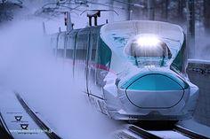 E5  Tohoku Bullet train Ueno ~ Omiya