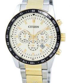 Citizen Quartz Chronograph Tachymeter Men's Watch Stainless Steel Bracelet, Stainless Steel Case, Seiko Watches, Citizen Watches, Brand Name Watches, Watch Sale, Watches Online, Casio Watch, Chronograph