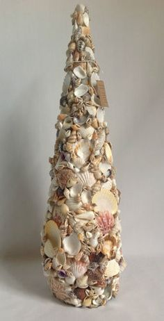 Seashell mailbox. Orders welcome! | Creations By Cat | Pinterest ...