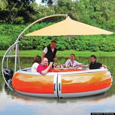 Floating BBQ Grill