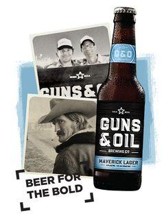 Guns & Oil Brewing. Guns & Oil Beer Puts Their Stamp on Downtown Austin